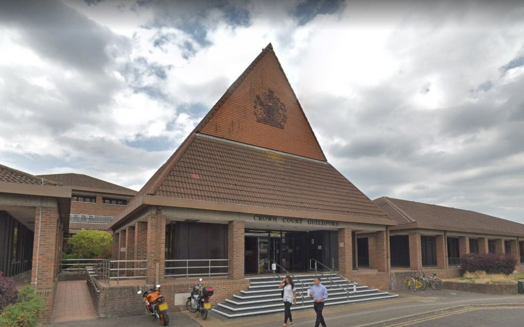 Latest Court Victory – Guildford Magistrates Court – Speeding – 106mph in a 70mph zone
